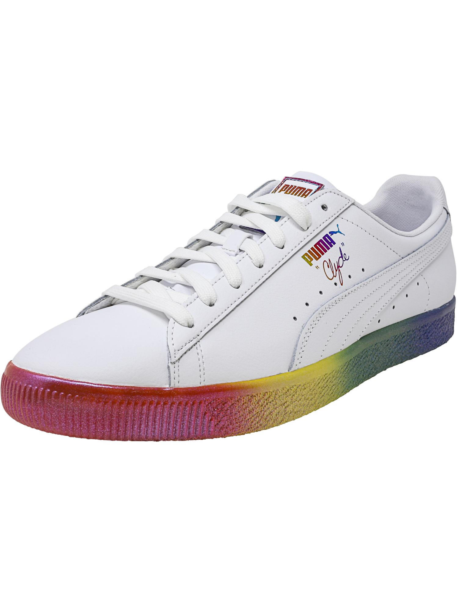 Sneaker alla uomo alla in caviglia pelle da Clyde moda Prd wUTpq7Bw