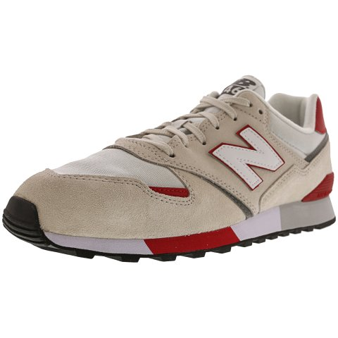 New Balance Men's U446 Ankle-High Leather Fashion Sneaker