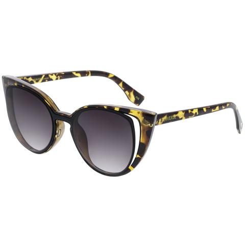 Perverse Women's Gradient Saga SAGA-05-FABLE Brown Cat Eye Sunglasses