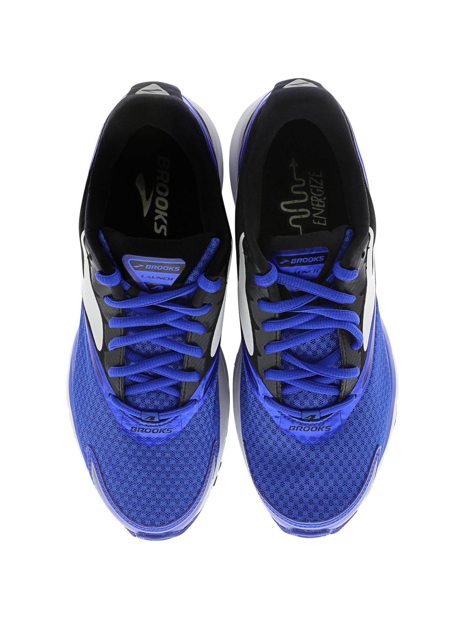 45b40bd84f8ee Brooks Men s Launch 4 Ankle-High Mesh Running Shoe