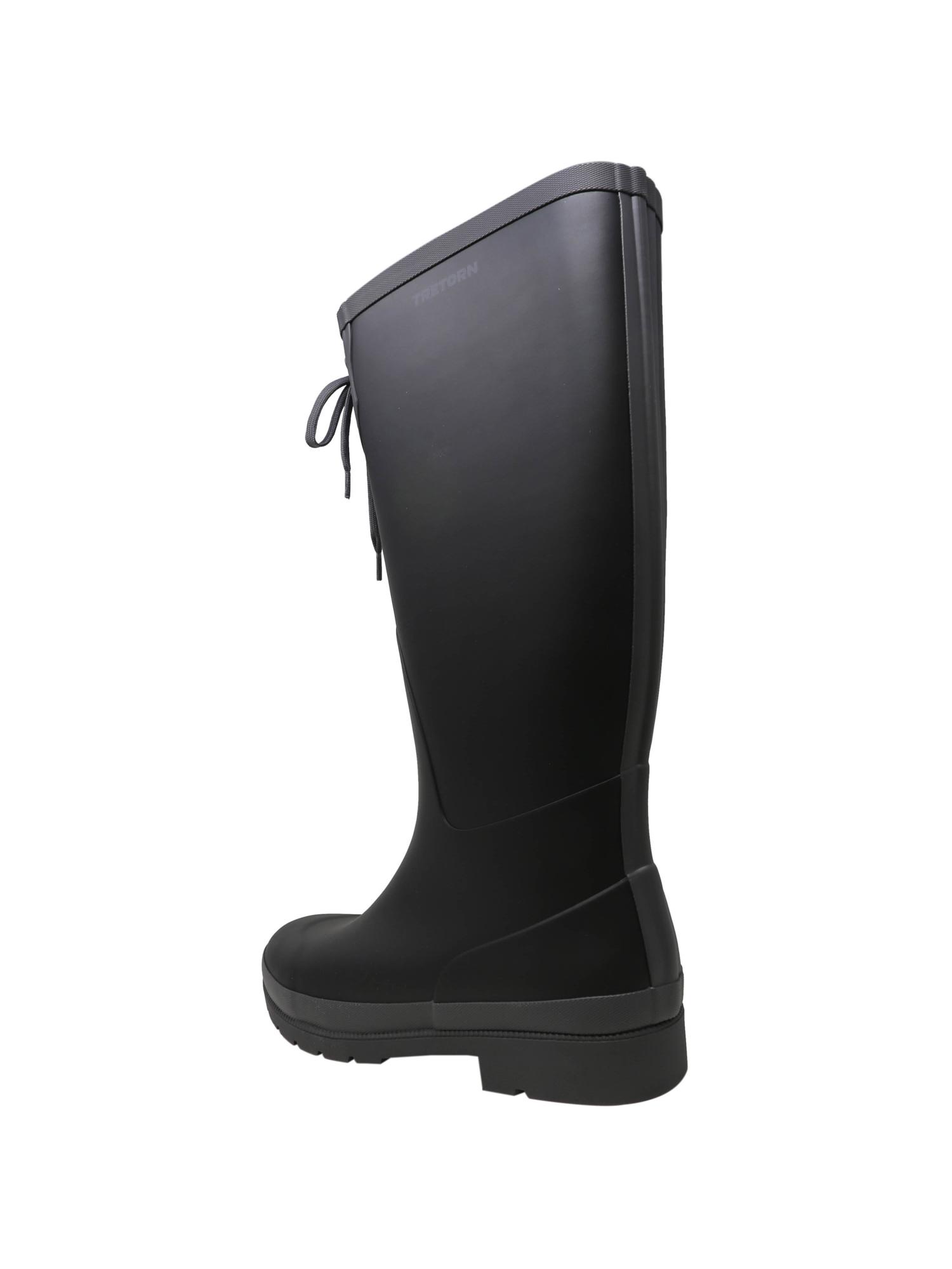 Tretorn-Women-039-s-Lacey-Rubber-Knee-High-Rain-Boot thumbnail 6