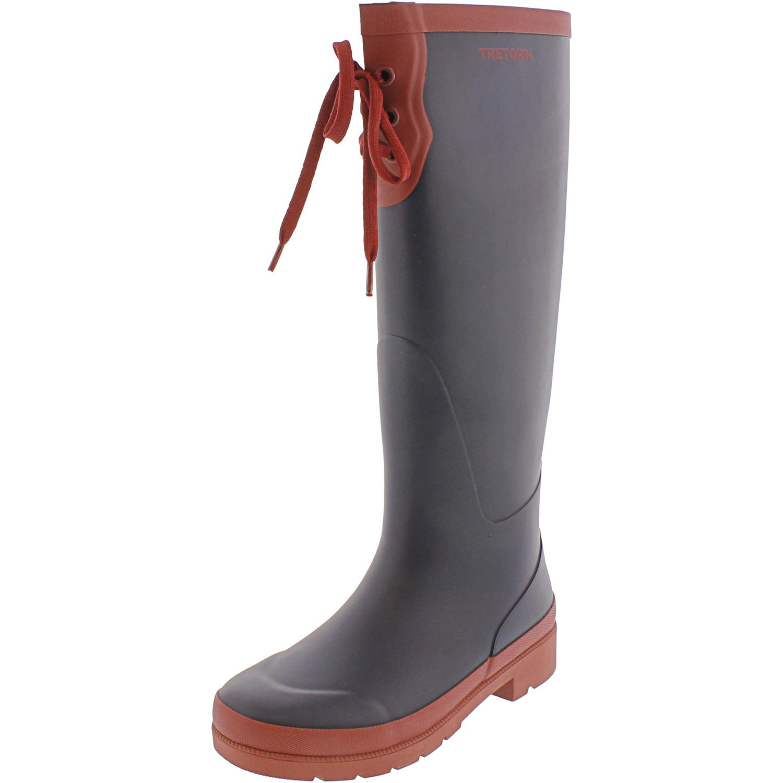 Tretorn-Women-039-s-Lacey-Rubber-Knee-High-Rain-Boot thumbnail 10
