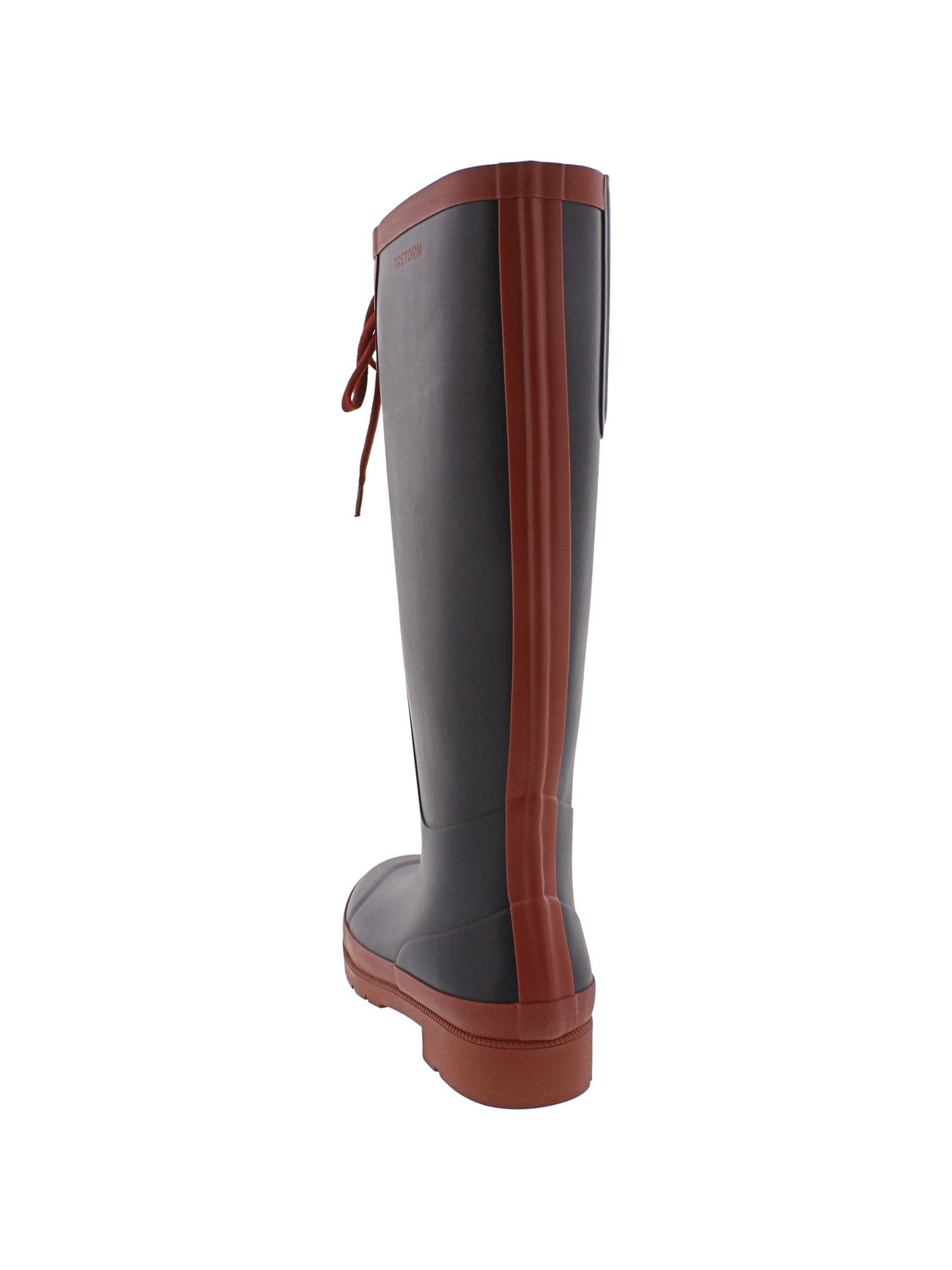 Tretorn-Women-039-s-Lacey-Rubber-Knee-High-Rain-Boot thumbnail 9