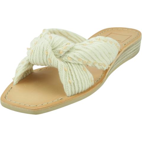 Dolce Vita Women's Haviva Fabric Wedged Sandal