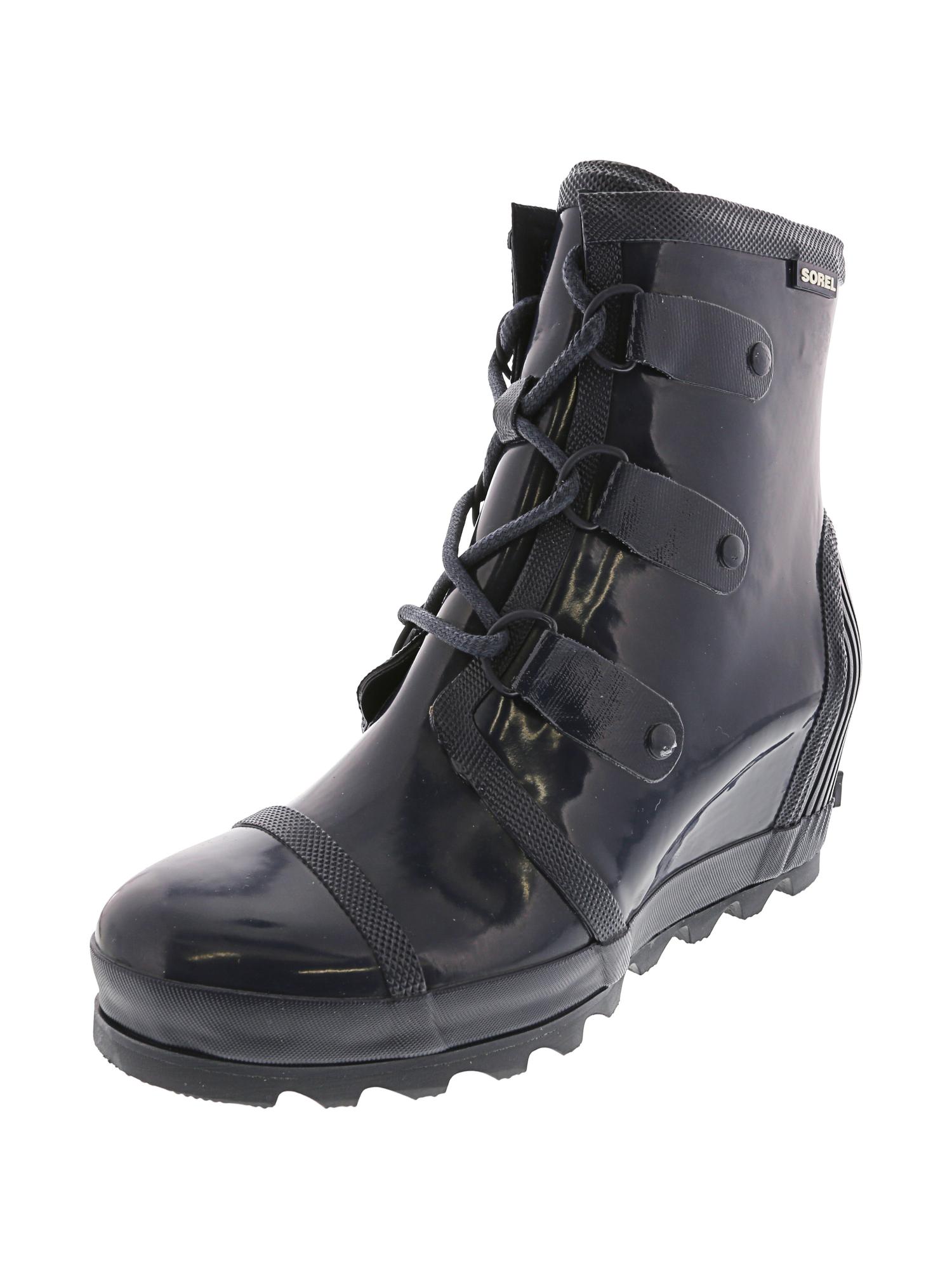 a2484223877b Sorel-Women-s-Joan-Rain-Wedge-Boot thumbnail 9