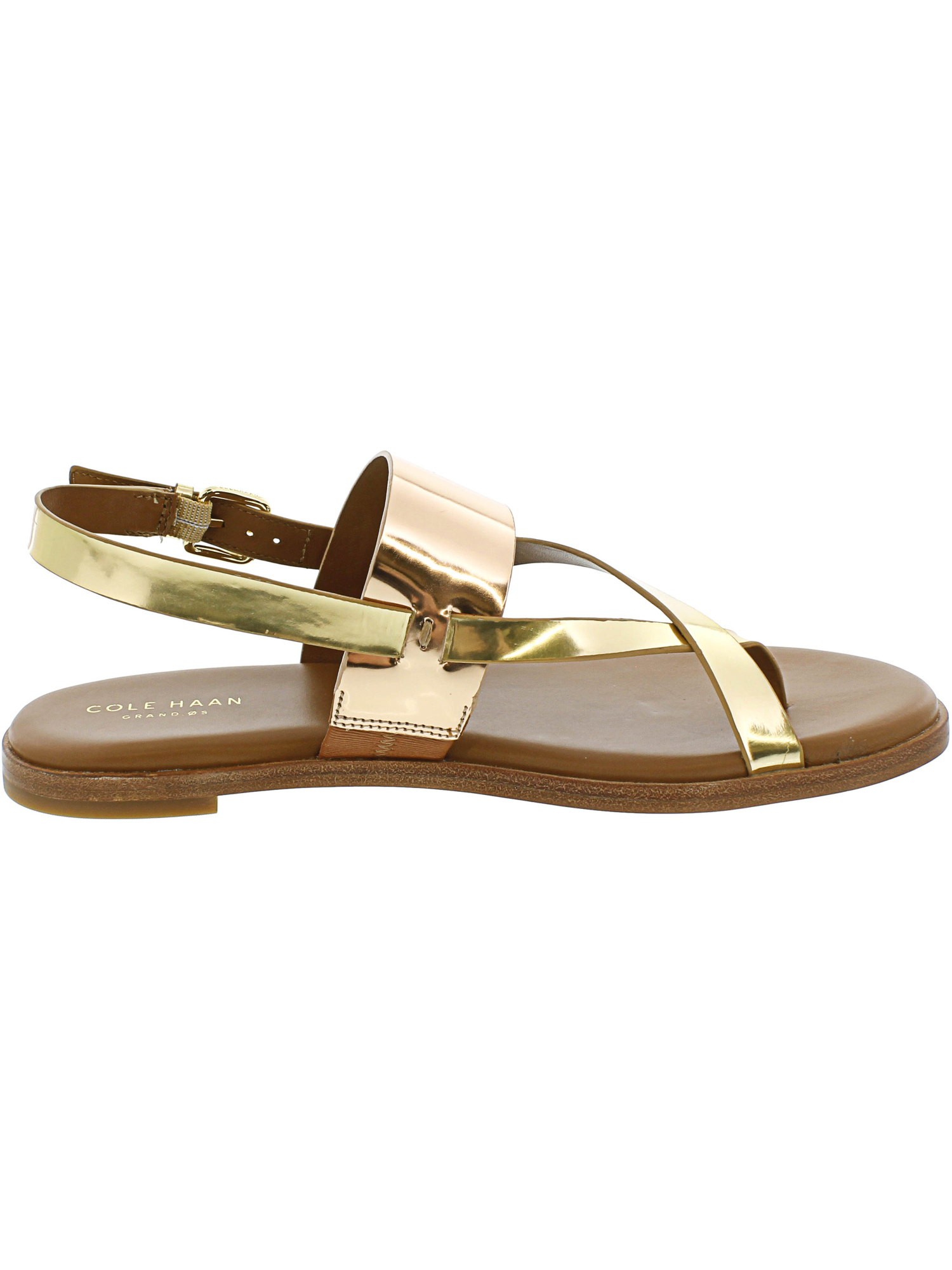 1126c7814e77 Cole Haan Women s Anica Thong Sandal Ankle-High Patent Leather