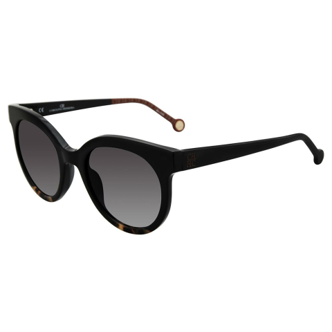 Carolina Herrera SHE745510700 Gradient round Sunglasses Black