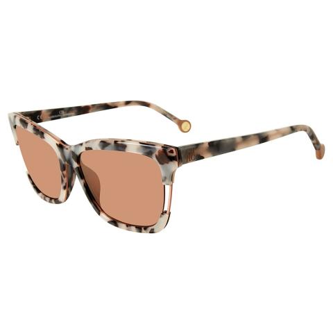 Carolina Herrera SHE752569BBX Mirrored Square Sunglasses
