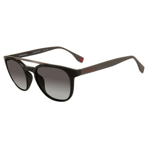 Converse SCO04952Z93P Gradient Square Sunglasses Black/Grey