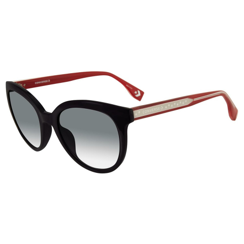 Converse SCO0555207AN Gradient Round Sunglasses Black/Red