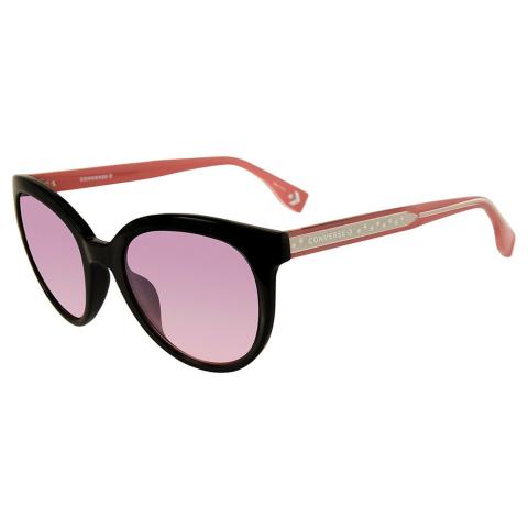 Converse SCO05552Z42Y Gradient Round Sunglasses Pink/Black