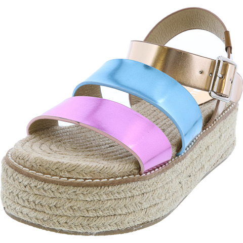 Coolway Women's Ranma Ankle-High Wedged Sandal