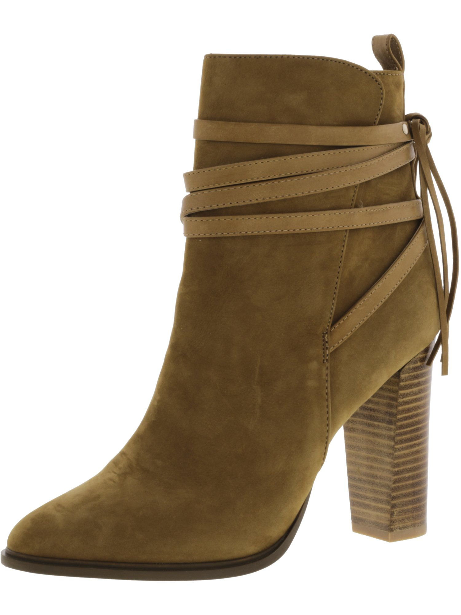 d9226e910ce Steve Madden Women s Gaybel Ankle Bootie Tan Nubuck 10 M US. About this  product. Picture 1 of 2  Picture 2 of 2