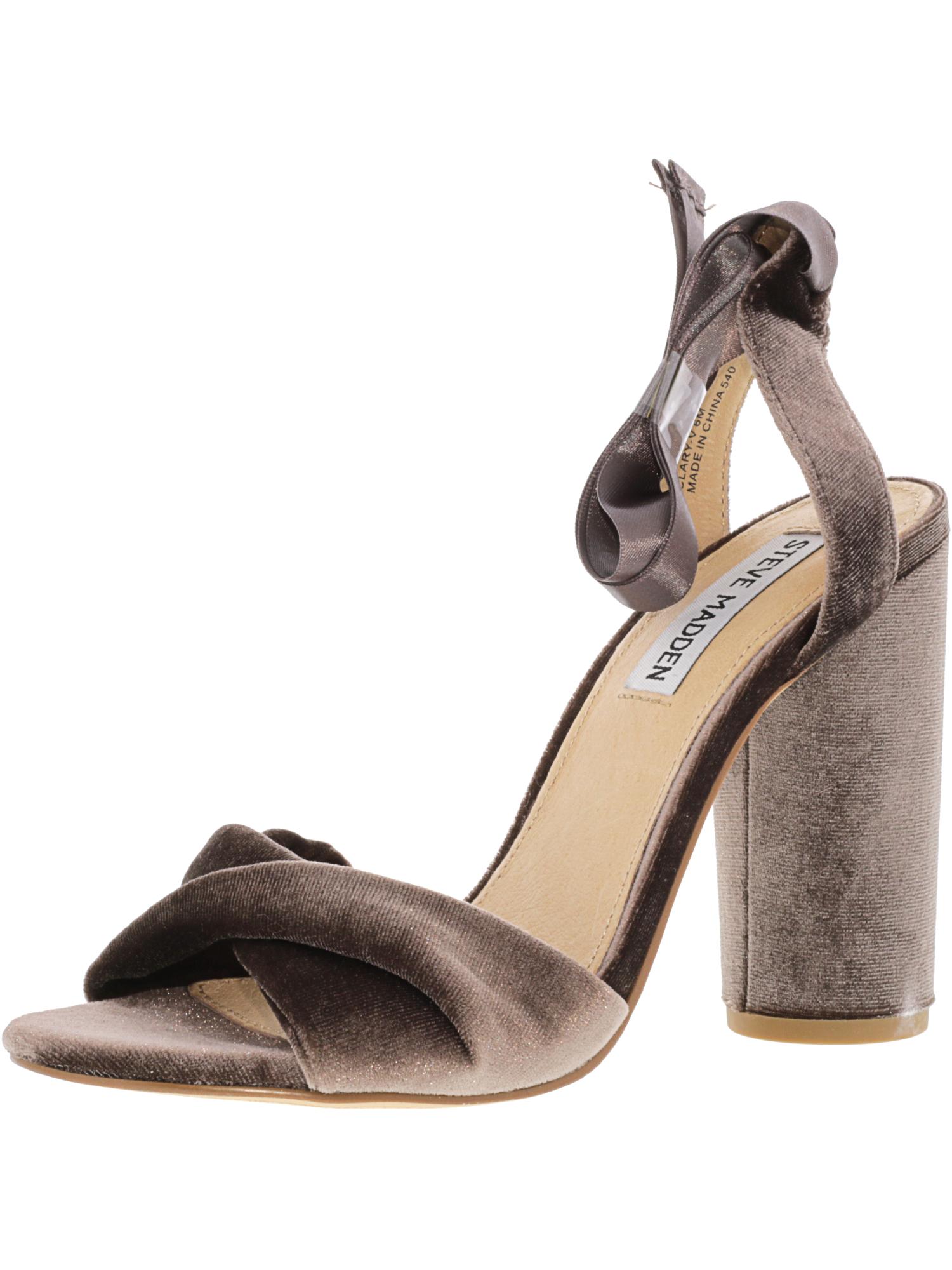 5787d9dfdc8 Steve Madden Women s Clary-V Ankle-High Fabric Pump