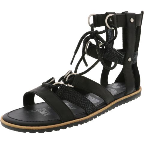 Sorel Women's Ella Lace Up High-Top Leather Sandal