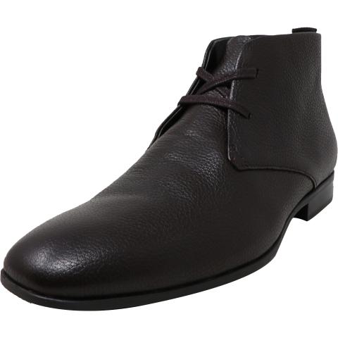 Calvin Klein Men's Cadman Tumbled High-Top Leather Oxford