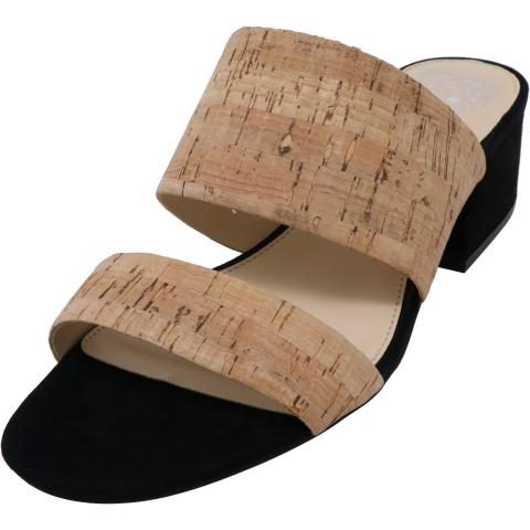 Vince Camuto Women's Caveera Cork True Suede Sandal