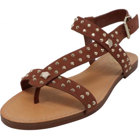 Vince Camuto Women's Ravensa Elko Nubuck Ankle-High Sandal
