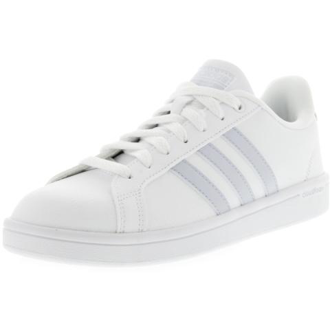 Adidas Women's Cf Advantage Ankle-High Leather Tennis Shoe