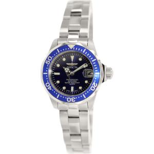 Invicta Women's Pro Diver SQ 9177 Silver Stainless-Steel Quartz Watch