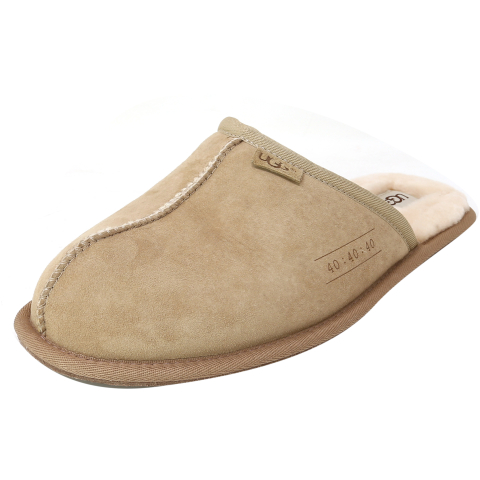 Ugg Men's Scuff Ankle-High Suede Slipper