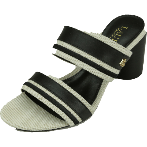 Lauren Ralph Women's Elmarie Fabric Heel