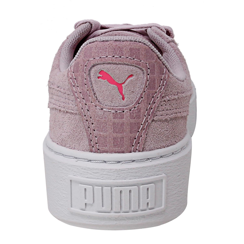 Puma-Women-039-s-Suede-Platform-Street-2-Ankle-High-Leather-Fashion-Sneaker thumbnail 8
