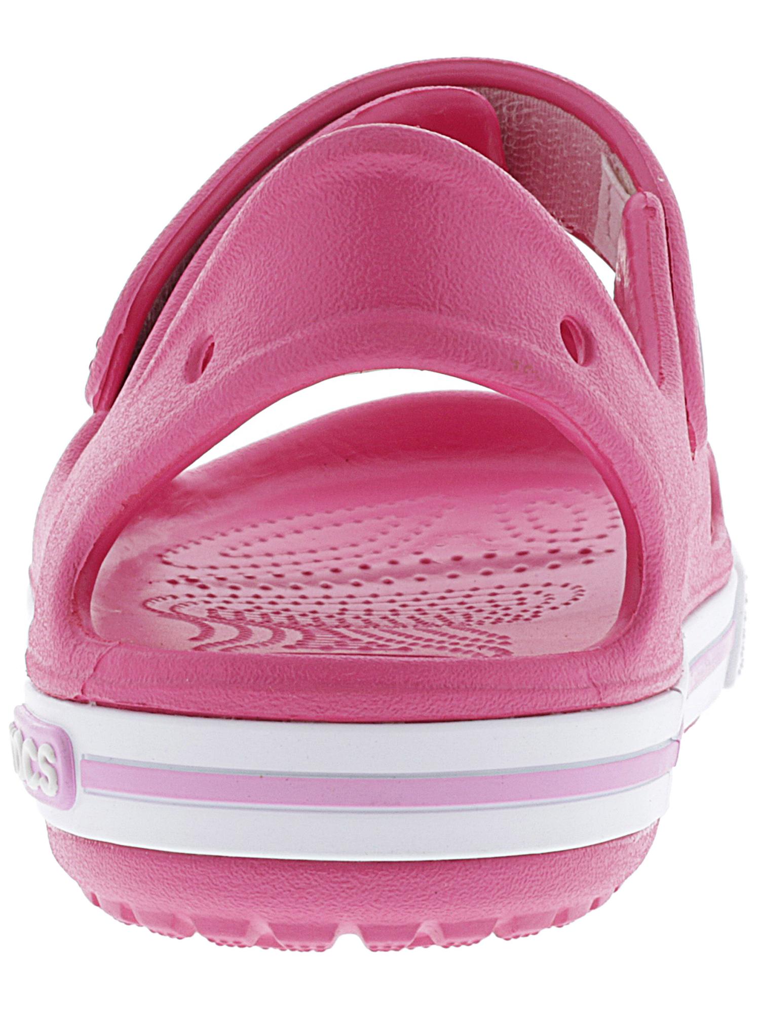 74b8544fb Crocs Kids Crocband II Sandal Paradise Pink   Carnation Ankle-high ...