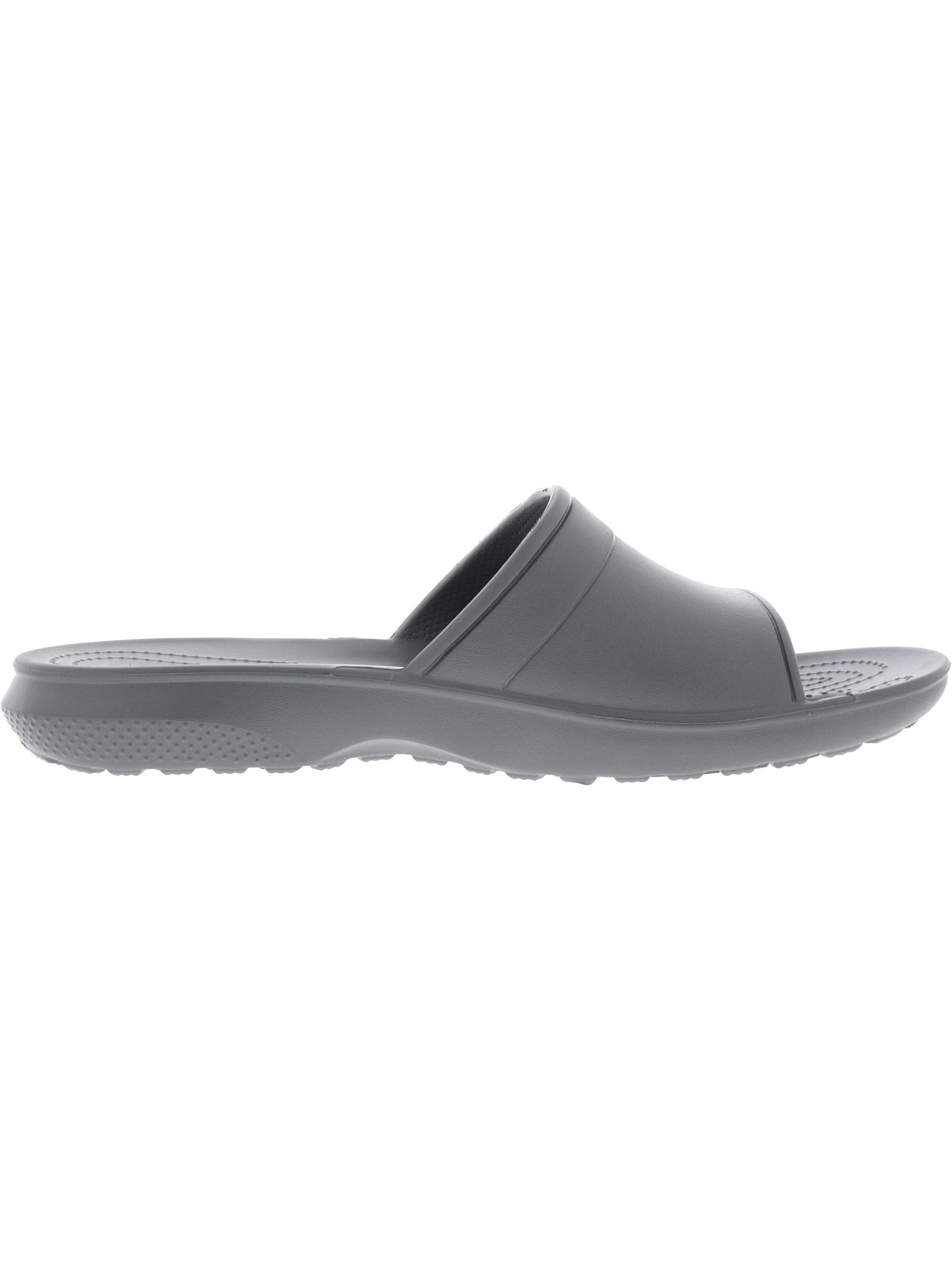 9658afeeaa911f Crocs Classic Slide Slate Grey Low Top Rubber Sandal - 13m   11m