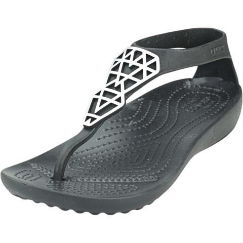 Crocs Women's Serena Embellish Flip Ankle-High Sandal