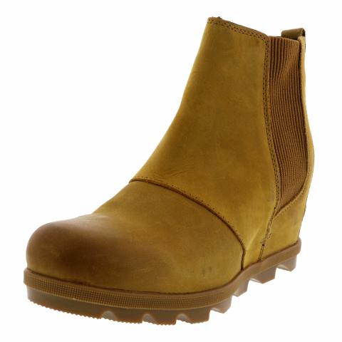 Sorel Women's Joan Of Arctic Wedge Ii Chelsea Ankle-High Leather Rain Boot
