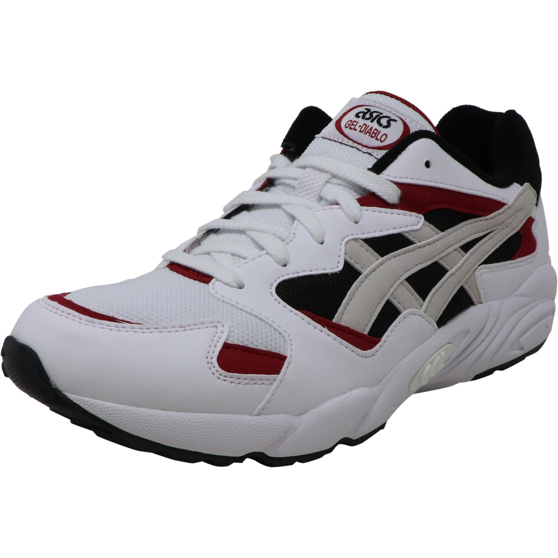Asics Tiger Men's Gel-Diablo White / Ankle-High Suede Walking - 8M