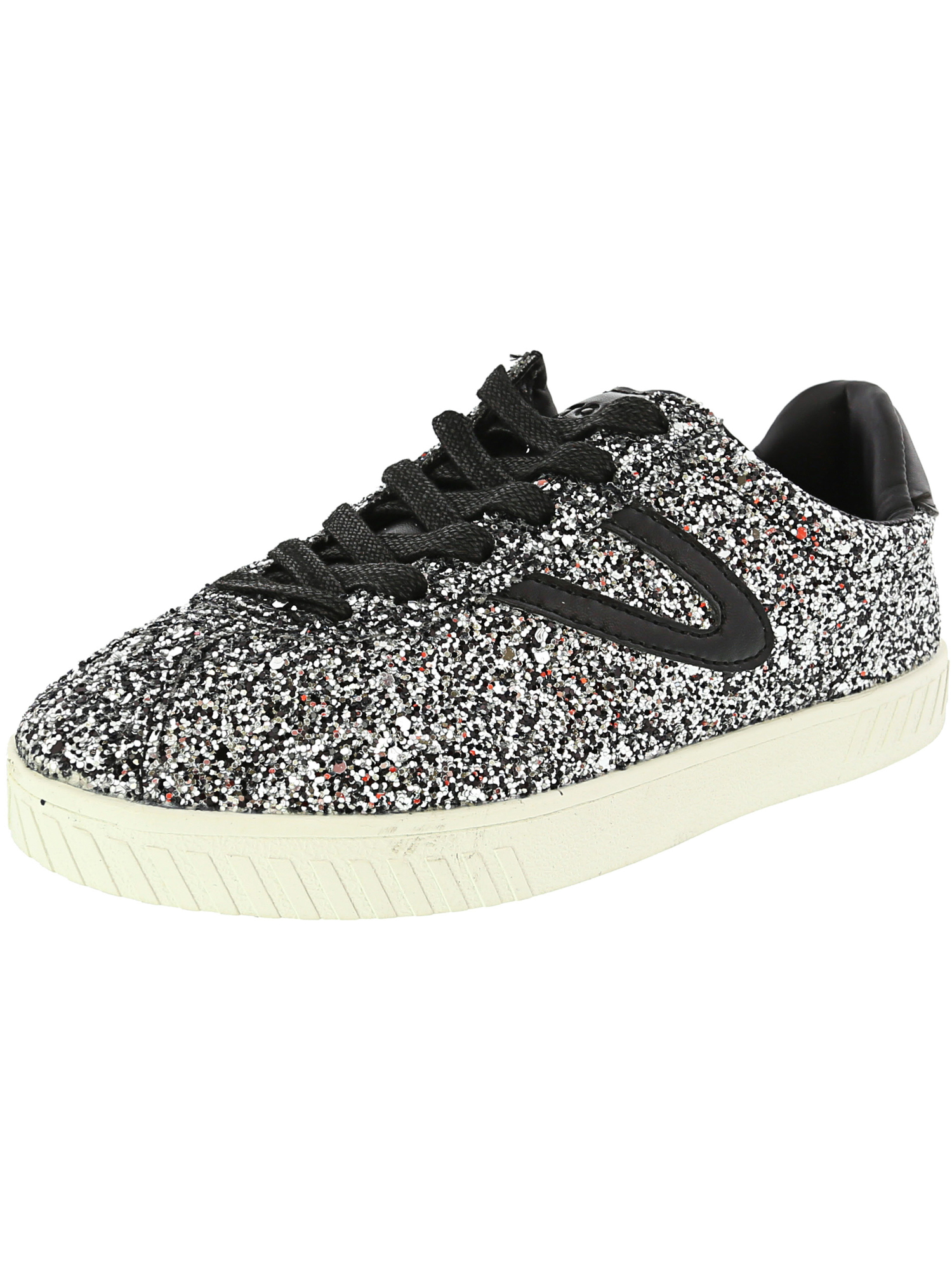 Tretorn Women/'s Camden 5 Glitter Ankle-High Fashion Sneaker