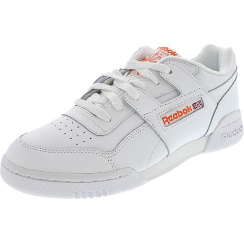 Reebok Men's Workout Plus Mu Low Top Leather Training Shoes