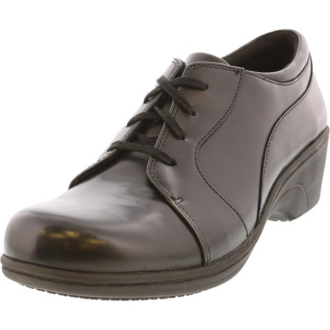 Aravon Women's Hanover Lace Ankle-High Leather Oxford