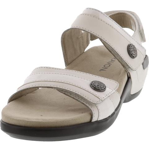 Aravon Women's Katherine Ankle-High Leather Sandal