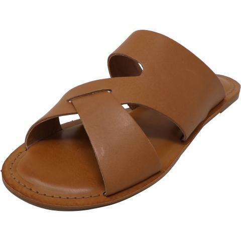 Lucky Brand Women's Leelan Graze Leather Sandal