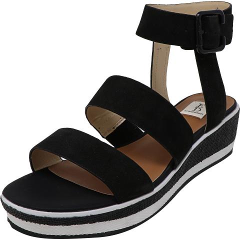 Ellen Degeneres Women's Stassi High-Top Leather Sandal
