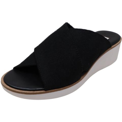Ellen Degeneres Women's Svetlana Felted Elastic Fabric Sandal