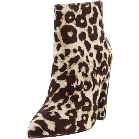 Charles David Women's Micro Hair Calf Ankle-High Haircalf Boot
