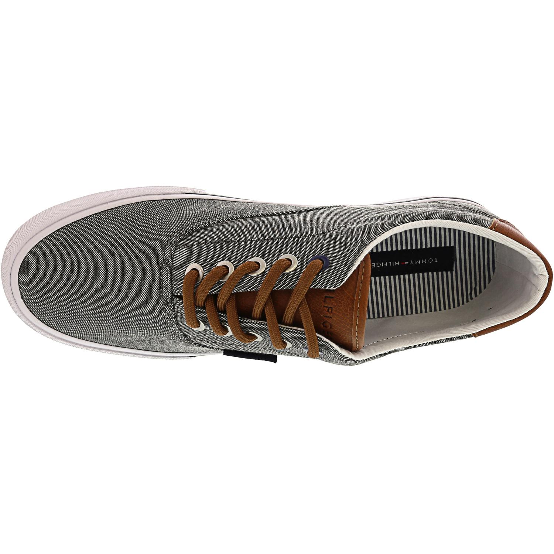 Tommy-Hilfiger-Men-039-s-Phero-Ankle-High-Canvas-Sneaker thumbnail 9