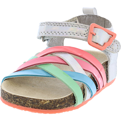 Osh Kosh B'gosh Girl's Clover Ankle-High Sandal