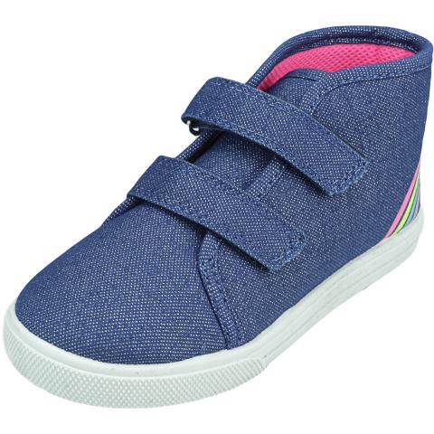 Osh Kosh B'gosh Girl's Mane Ankle-High Fabric Sneaker