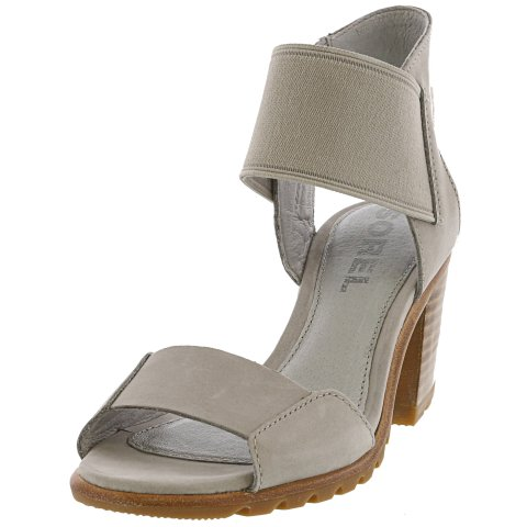 Sorel Women's Nadia Sandal Ankle-High Leather Wedged