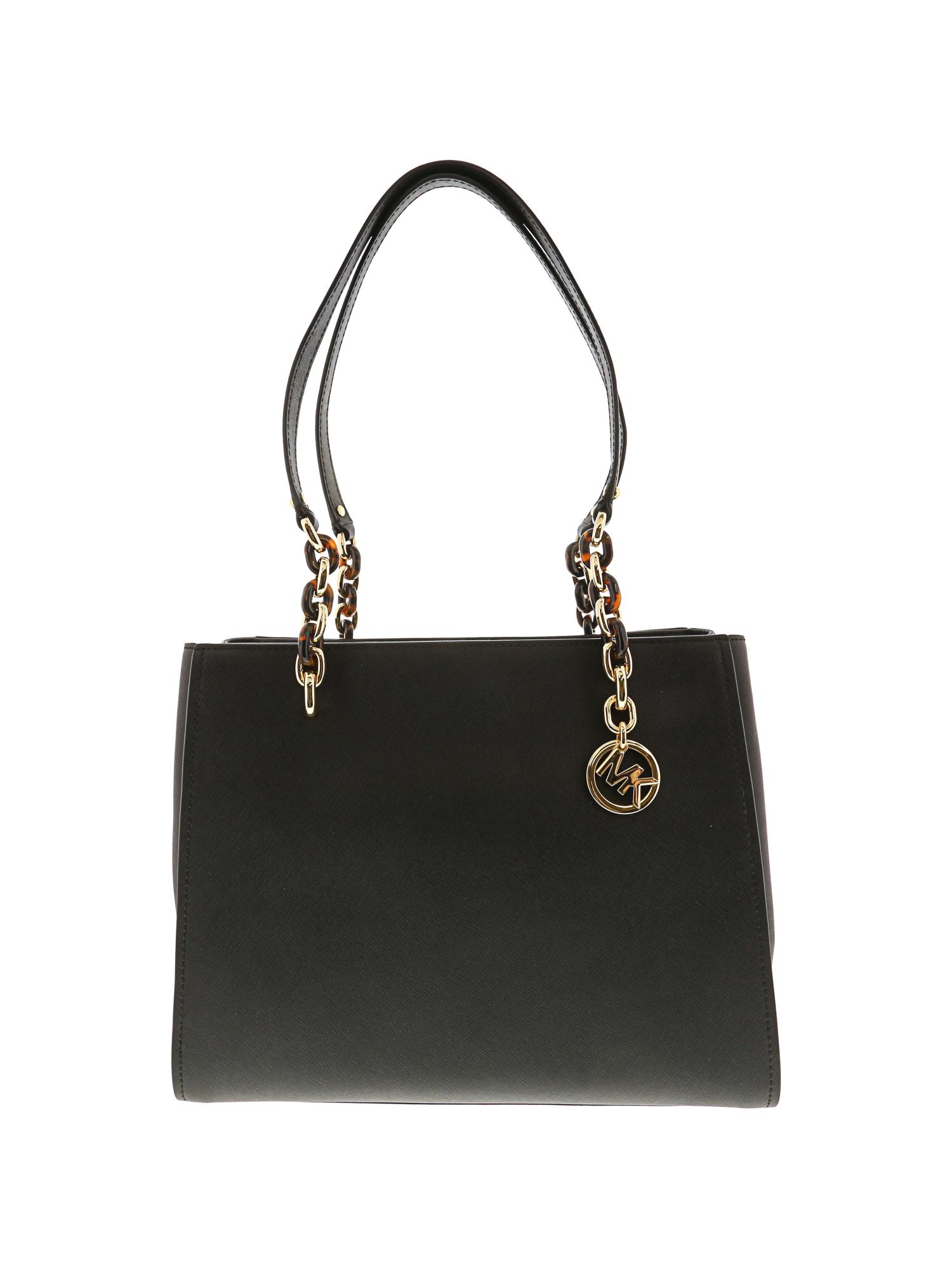 44426279663607 Michael Kors Bag Sofia MD Tote Leather Black 35f8go5t3l for sale ...