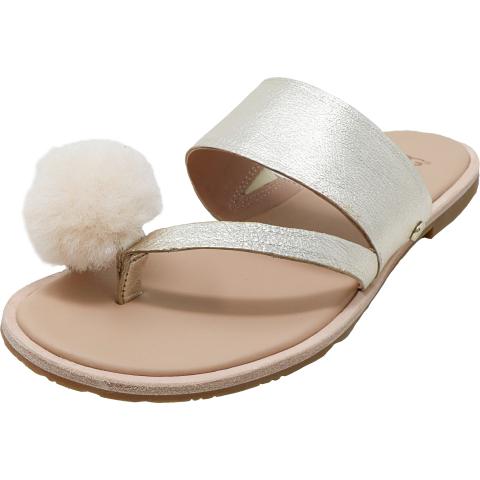 Ugg Women's Hadlee Metallic Leather Sandal