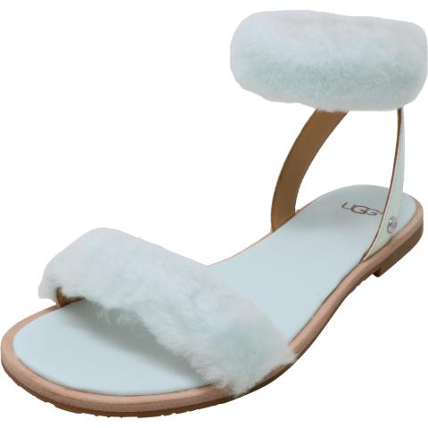 Ugg Women's Fluff Springs High-Top Fur Sandal