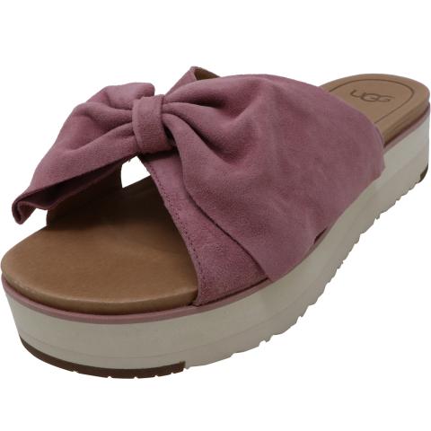 Ugg Women's Joan Ii Leather Wedged Sandal