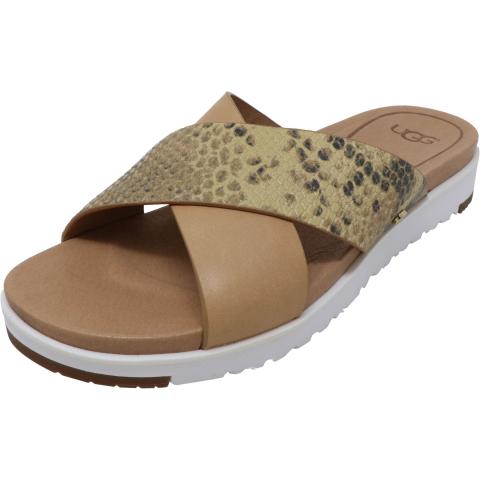 Ugg Women's Kari Exotic Ankle-High Leather Sandal