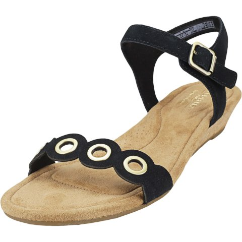 Ugg Women's Leira Ankle-High Leather Wedged Sandal